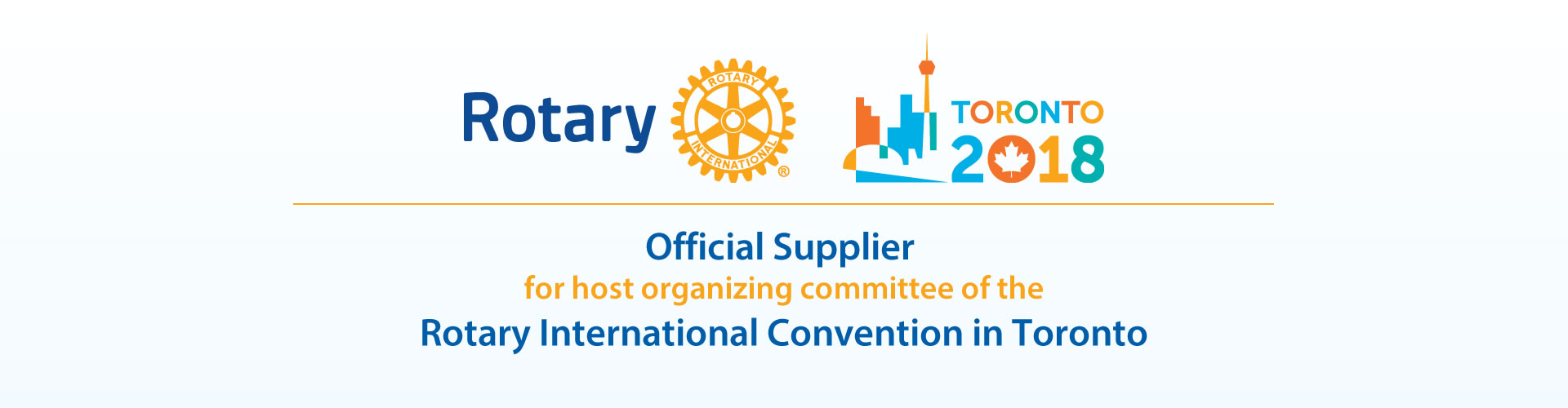 Rotary Toronto 2018 Convention Official Supplier