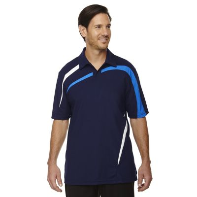 Men's North End Sport Polyester Colour Block Polo T-Shirt