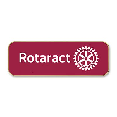 Rotaract Member Cloisonne Magnetic Lapel Pin