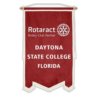3' x 5' Custom Flock Rotaract Banner