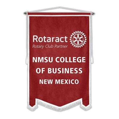 4' x 6' Custom Flock Rotaract Banner
