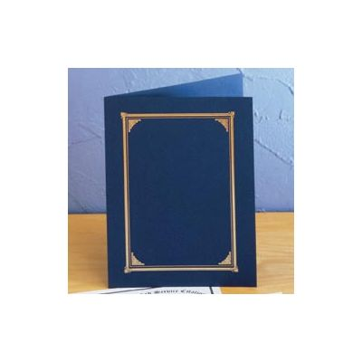 Cardboard Certificate Holder