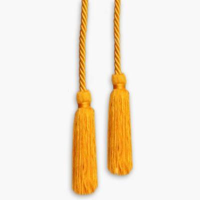 9' Golden Yellow Rayon Cord & Tassels