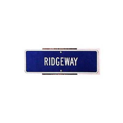 "6"" x 18"" Single-Faced Auxiliary Sign"