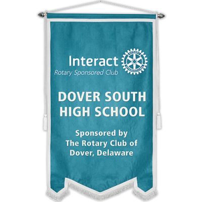 3' x 5' Custom Flock Interact Banner