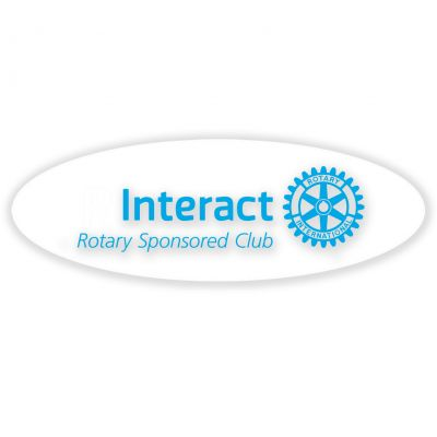 Oval Interact Masterbrand Logo Decal