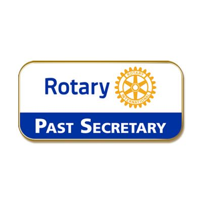 Past Secretary Masterbrand Lapel Pin