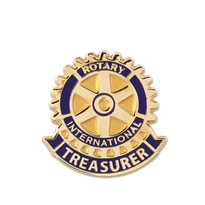 Club Treasurer Lapel Pin