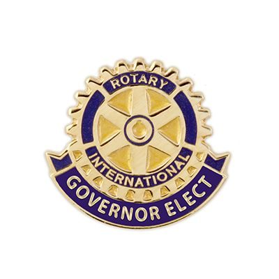 Governor Elect Single Ribbon Magnetic Lapel Pin