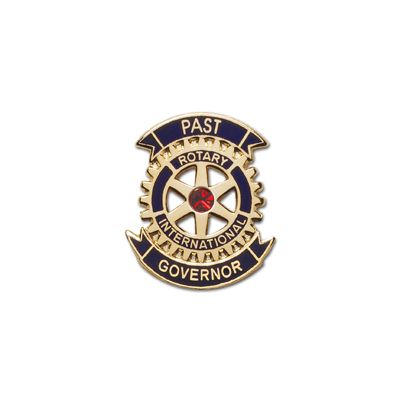 Past Governor Lapel Pin - Gold Plated