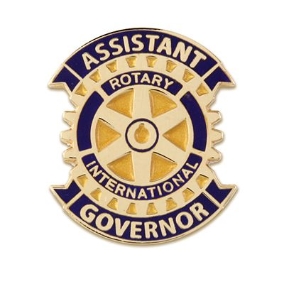 Assistant Governor Magnetic Lapel Pin