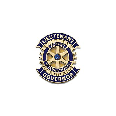 Lieutenant Governor Gold Plated Lapel Magnet