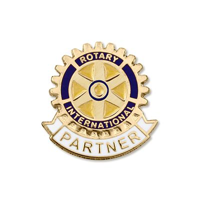 Partner of Rotarian Magnetic Lapel Pin