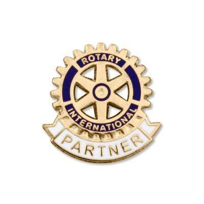 Partner of Rotarian Lapel Pin