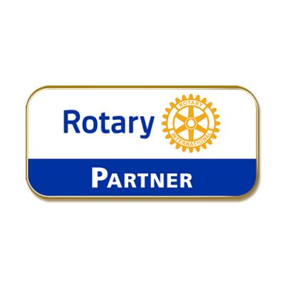 Rotary Partner, Masterbrand Magnetic Lapel Pin
