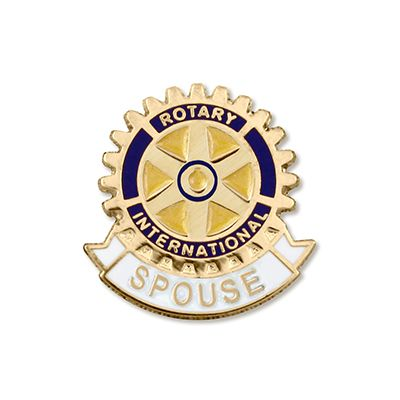 Spouse of Rotarian Magnetic Lapel Pin