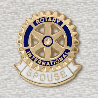 Spouse of Rotarian Lapel Pin