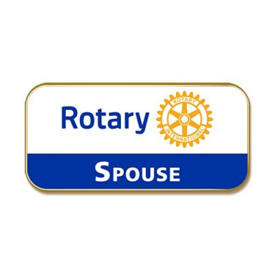 Rotary Spouse, Masterbrand Magnetic Lapel Pin