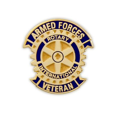 Armed Forces Veteran Magnetic Lapel Pin