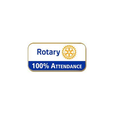 100% Attendance, Masterbrand Lapel Pin