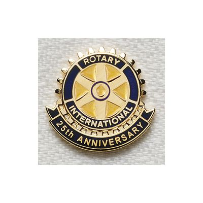 25th Anniversary Magnetic Lapel Emblem