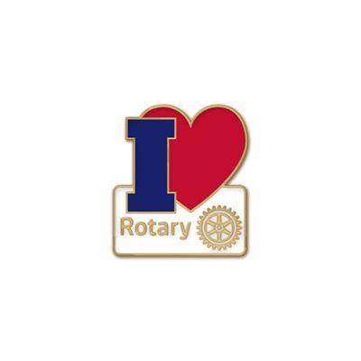 I Love Rotary Pin