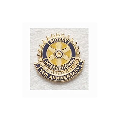 50th Anniversary Magnetic Lapel Pin