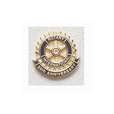 50th Anniversary Lapel Pin