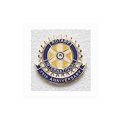 75th Anniversary Magnetic Lapel Pin