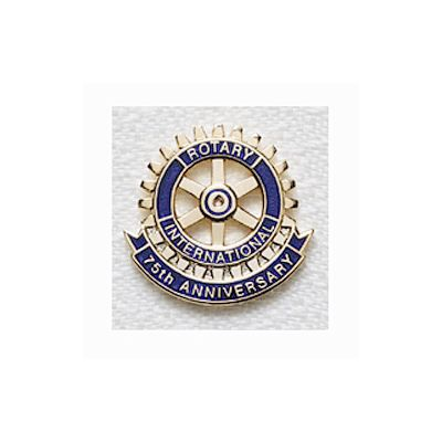 75th Anniversary Lapel Pin