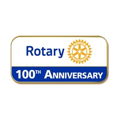100th Anniversary Masterbrand Magnetic Lapel Pin