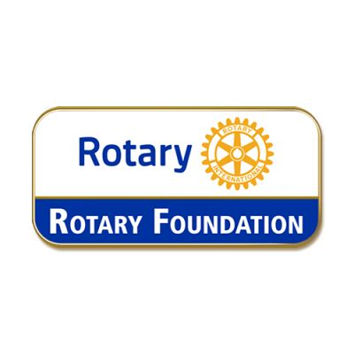 Rotary Foundation, Masterbrand Magnetic Lapel Pin