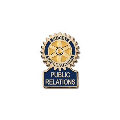 Public Relations Committee Magnetic Lapel Pin