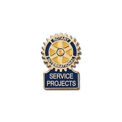 Service Projects Committee Magnetic Lapel Pin
