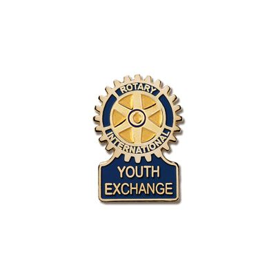 Youth Exchange Committee Magnetic Lapel Pin