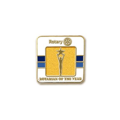 Rotarian of the Year Lapel Pin