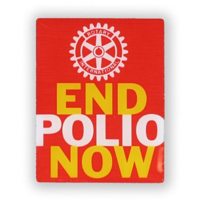 End Polio Now Magnetic Lapel Pin