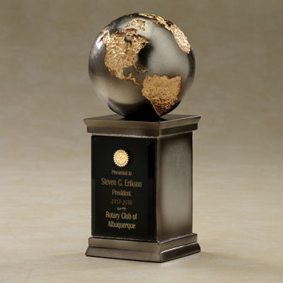 The Continental Gilded Globe Award