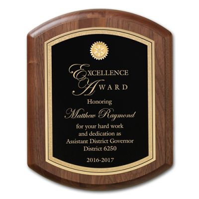 Classic Walnut Plaque