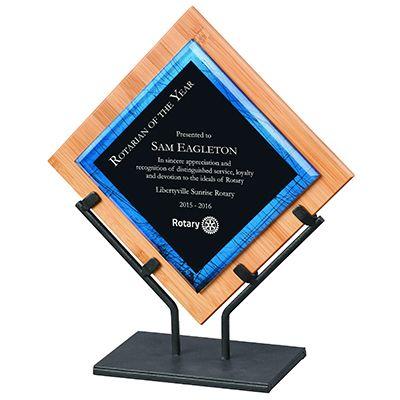 Bamboo & Iron Multi-Media Acrylic Award