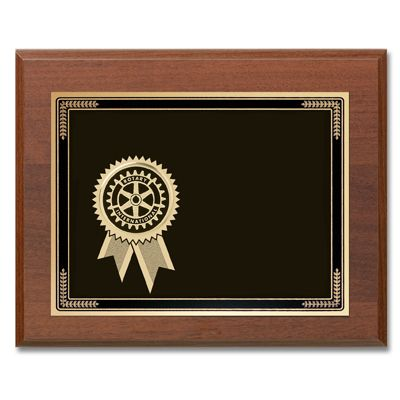Custom Certificate of Appreciation Plaque
