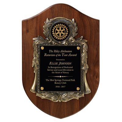 Prestige Award w/Antique Metal Casting