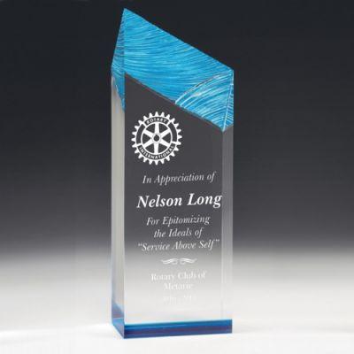 Chiseled Edge Acrylic Award