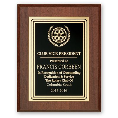 Vice President Plaque - Club Executive Series