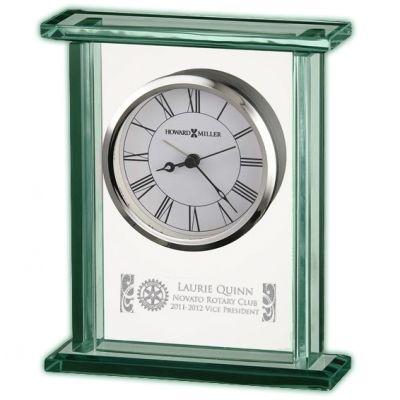Custom Glass & Chrome Carriage Clock