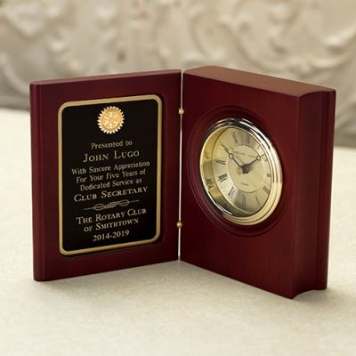 Book Clock Recognition Award