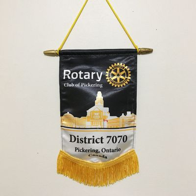"Club Name Only Trading Banner - 7"" x 10"""