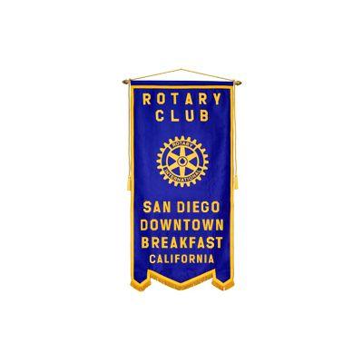 3' x 6'  Custom Rotary Felt Banner