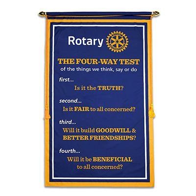 Digitally Printed 3' x 5' Four-Way Test Banner