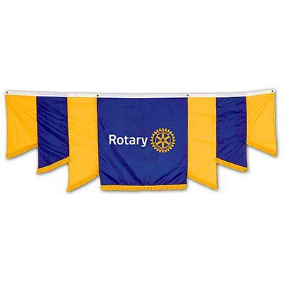 9' x 3' Nylon Panel Drapery Banner